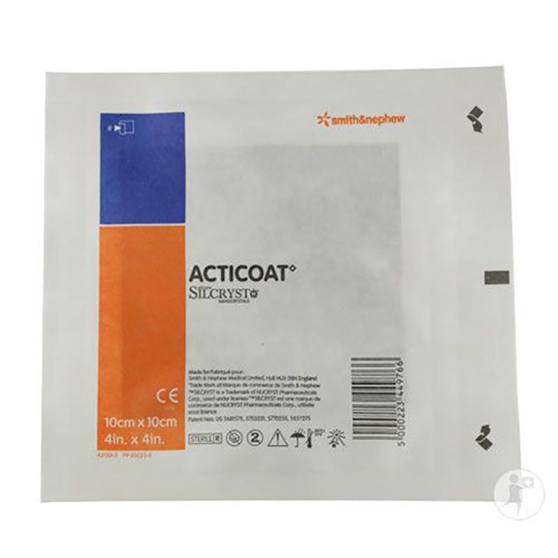 Acticoat Con Plata Nanocristalina