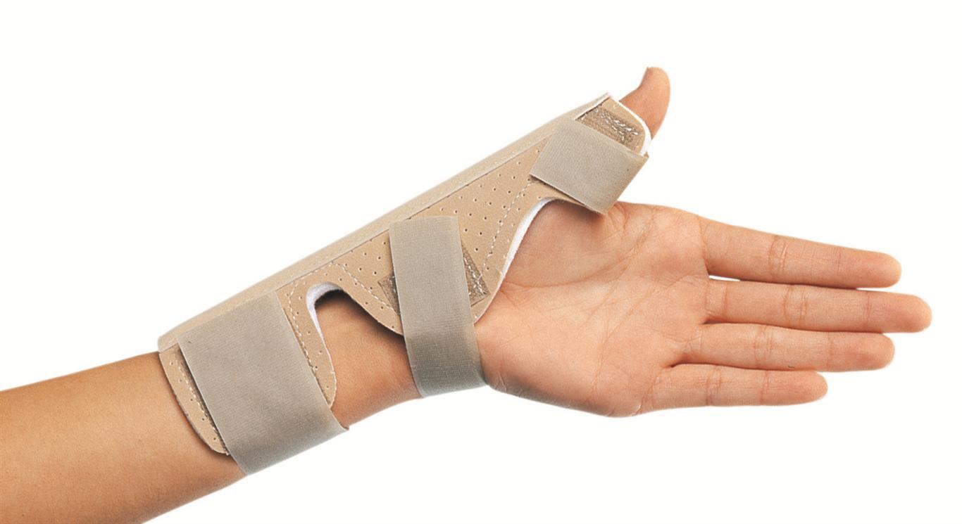 Férula para lesiones de pulgar